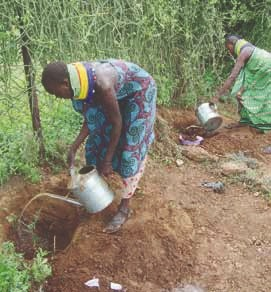Women empowerment, food aid, borehole construction Image 9