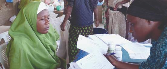 Food distribution, hygiene, water and sanitation and food se ... Image 1