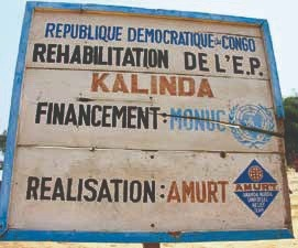 Disaster relief, food aid, rehabilitation of roads and bridg ... Image 7